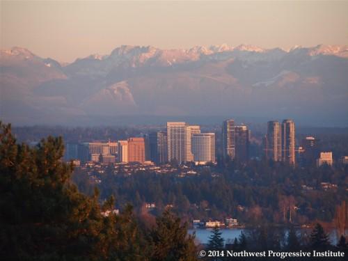 Bellevue beneath the Cascades