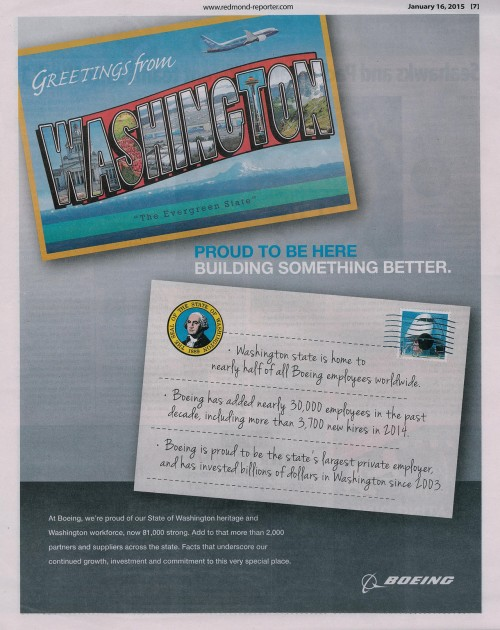 Boeing's love letter (or postcard) to Washington