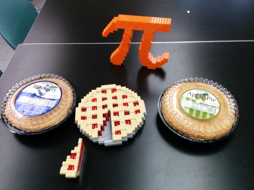 Pies assembled for Pi Day