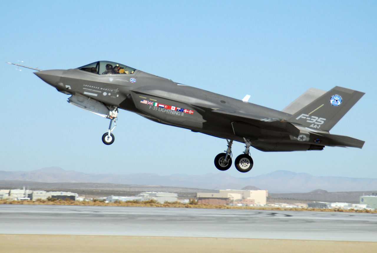 F-35 Lightning II at Edwards AFB