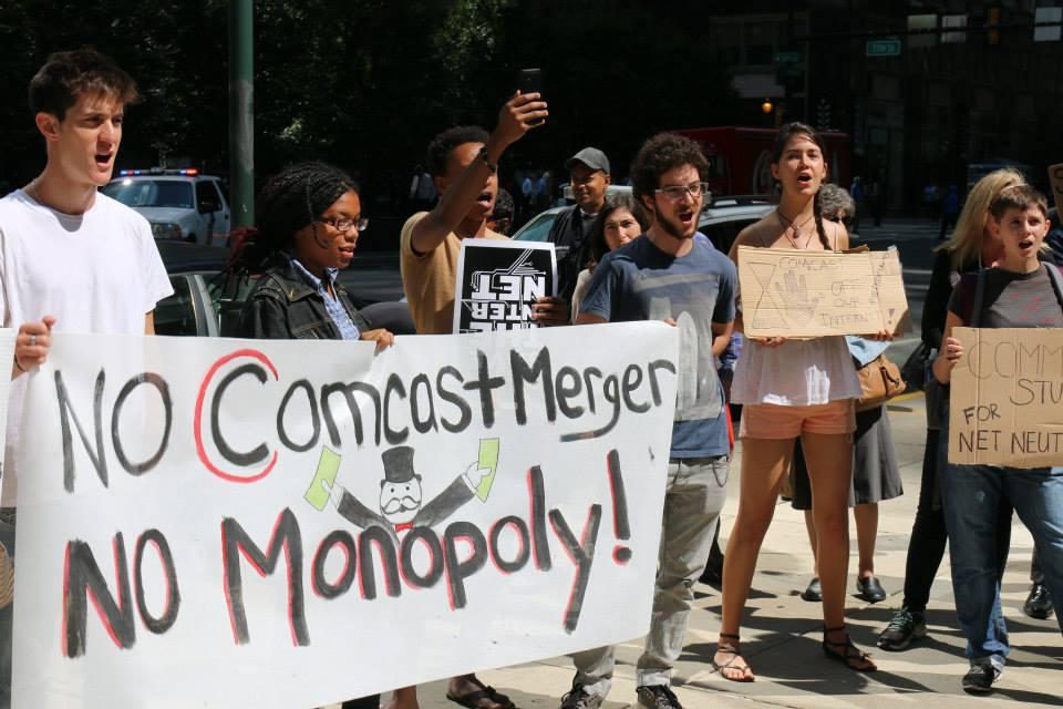 No Comcast Merger: No monopoly!