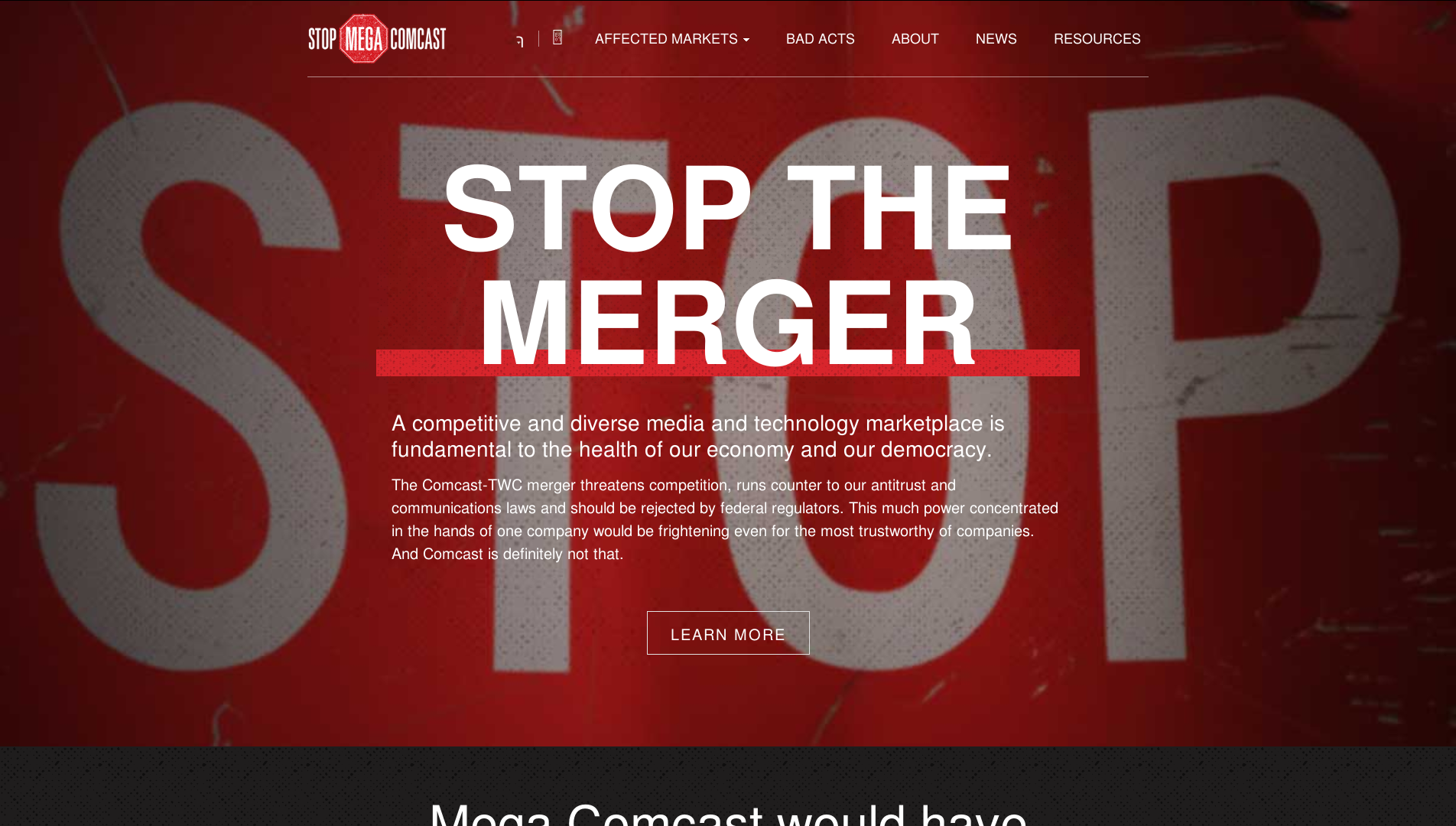 Stop the Comcast-TWC Merger