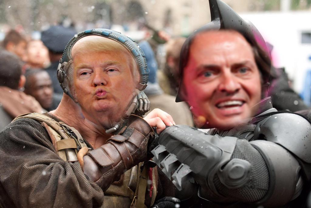Donald Trump vs. John Legere