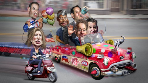 2016 Republican Clown Car as of May 6th