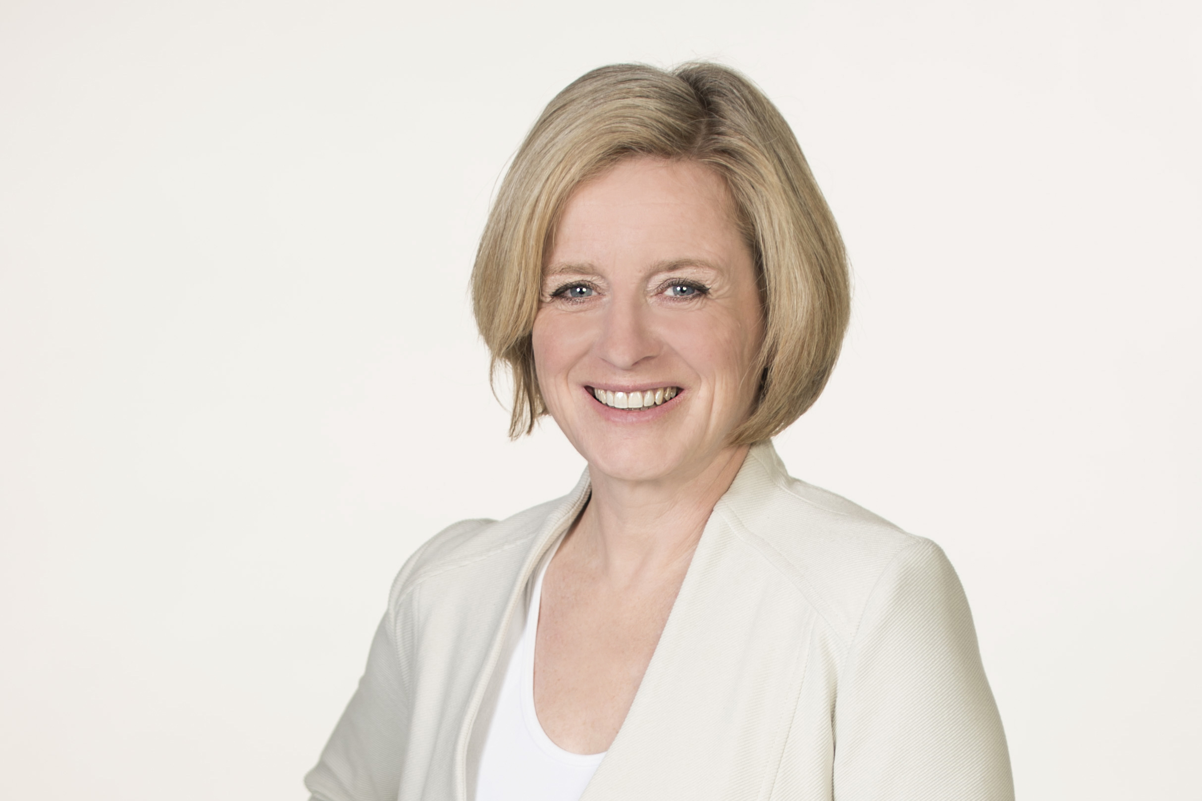 Official portrait of Premier Rachel Notley