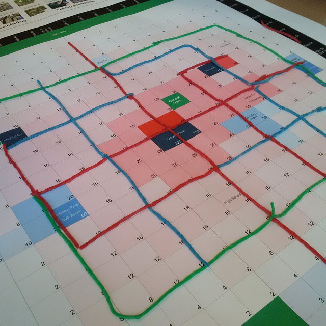 Transit planning exercise