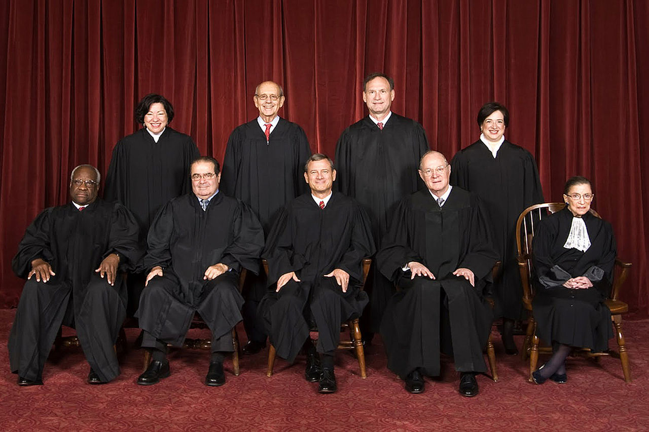 The Supreme Court, as of 2010