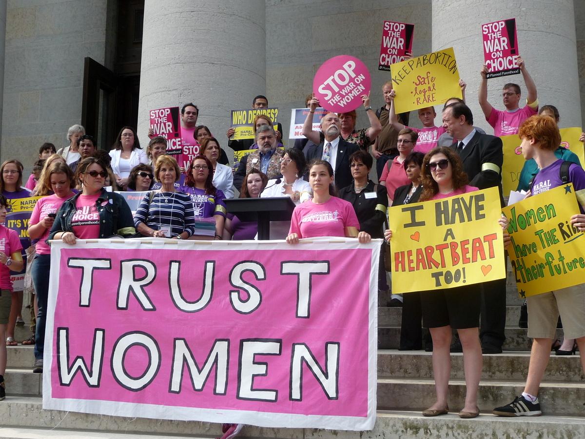 Trust women!