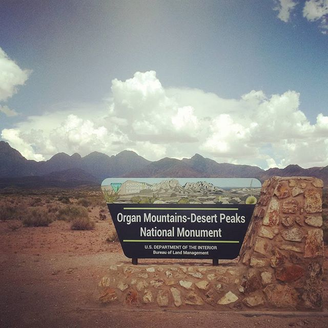 The new Organ Mountains-Desert Peaks National Monument, created by act of President Barack Obama