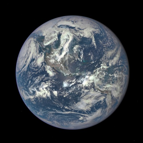 An EPIC new view of Planet Earth