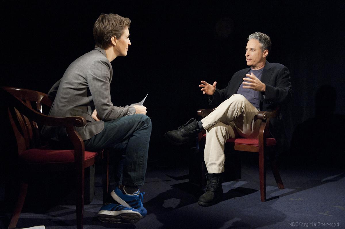 Rachel Maddow interviews Jon Stewart
