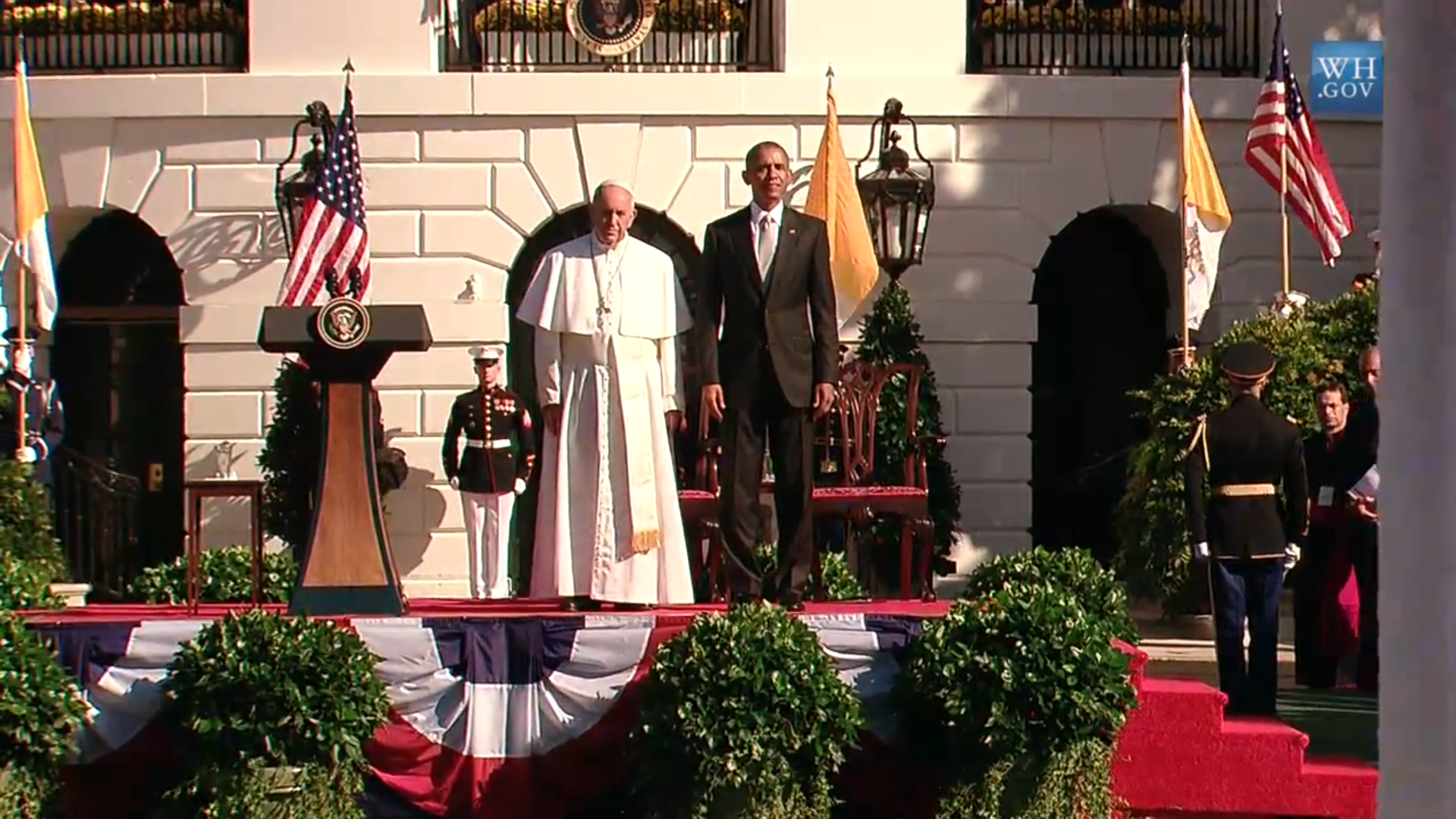 President Obama and Pope Francis