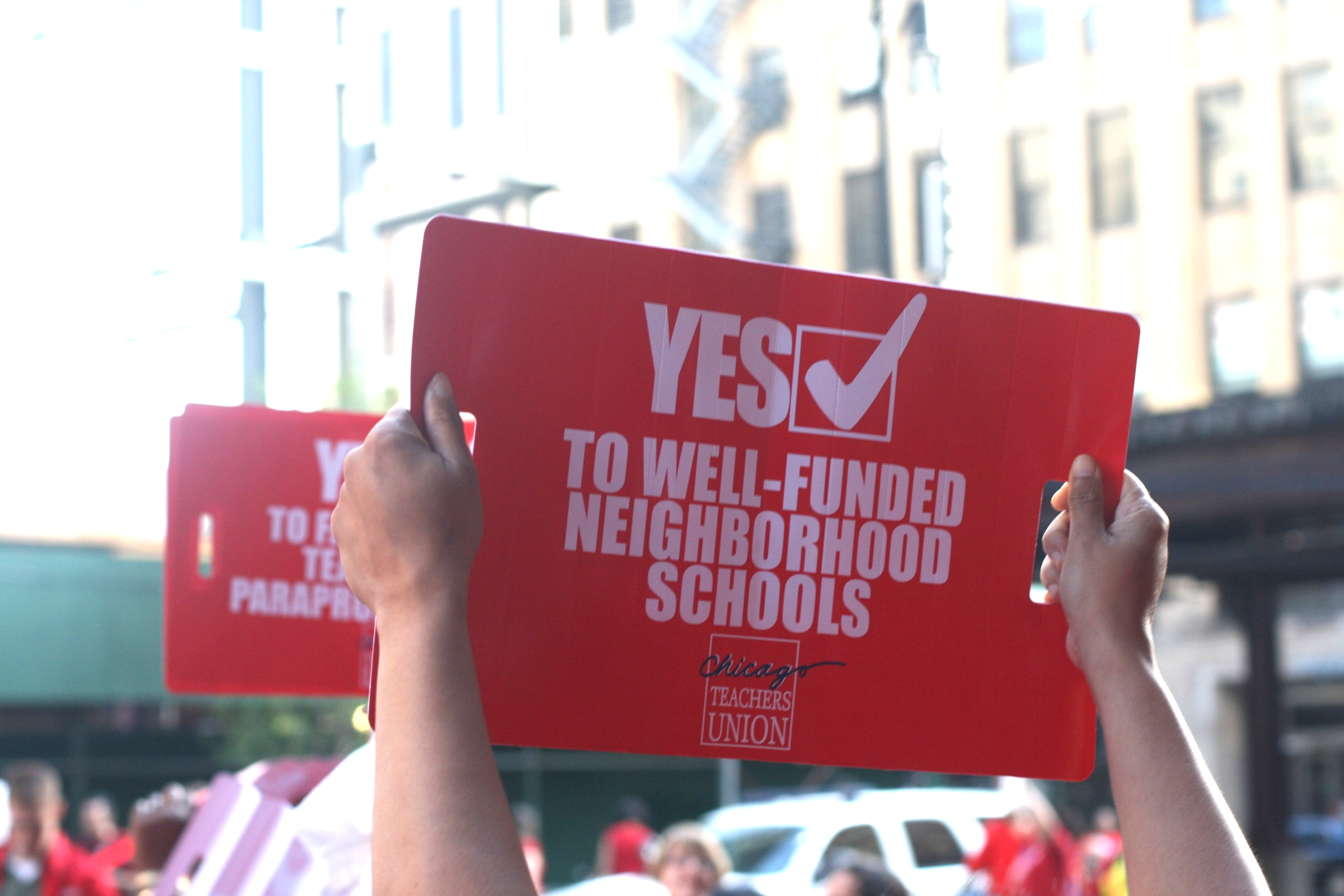 Yes to well-funded schools