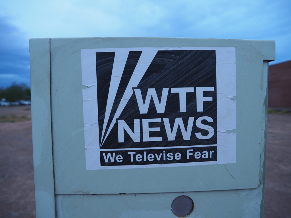 WTF News: We Televise Fear