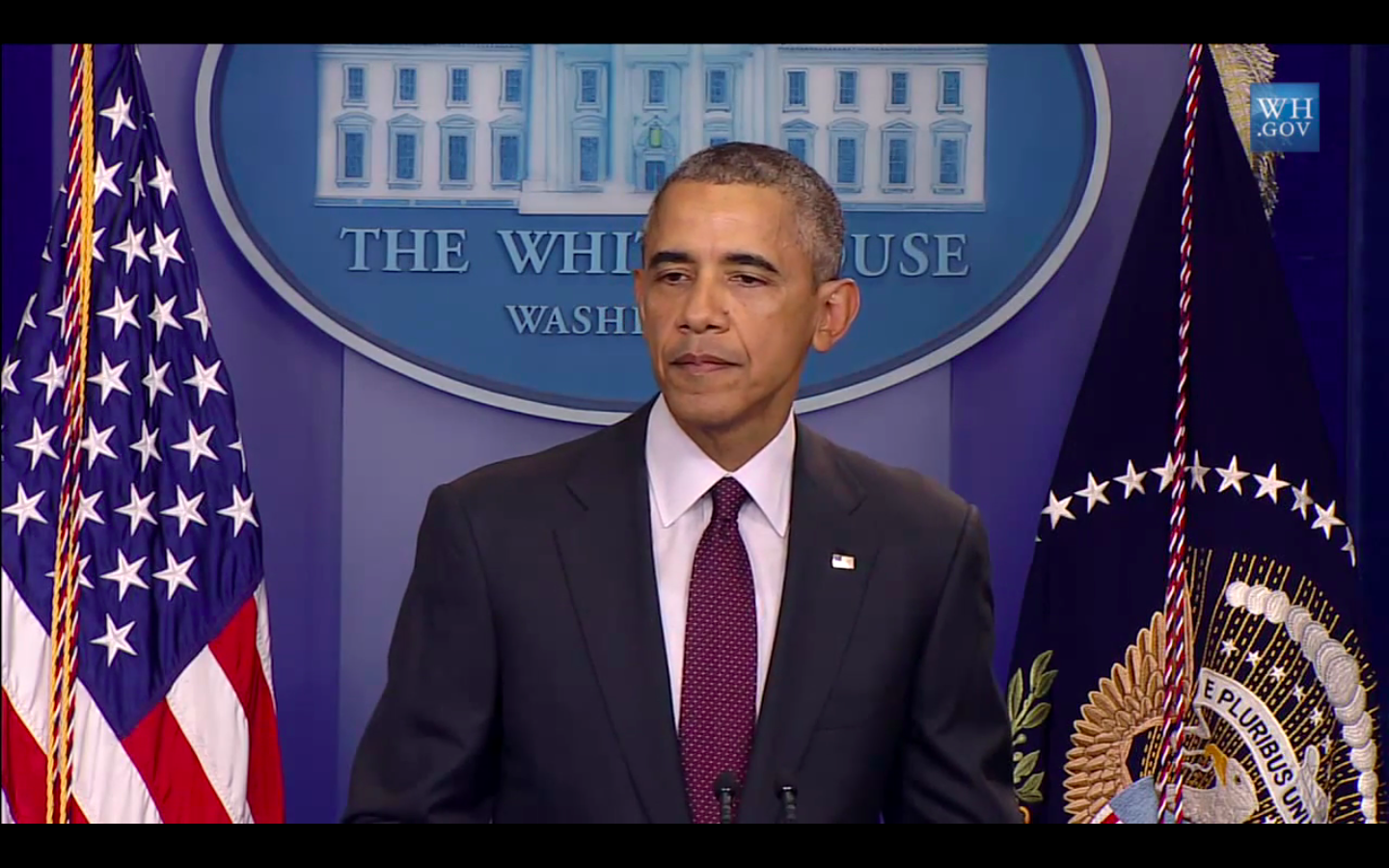 President Obama speaks in response to the UCC shooting