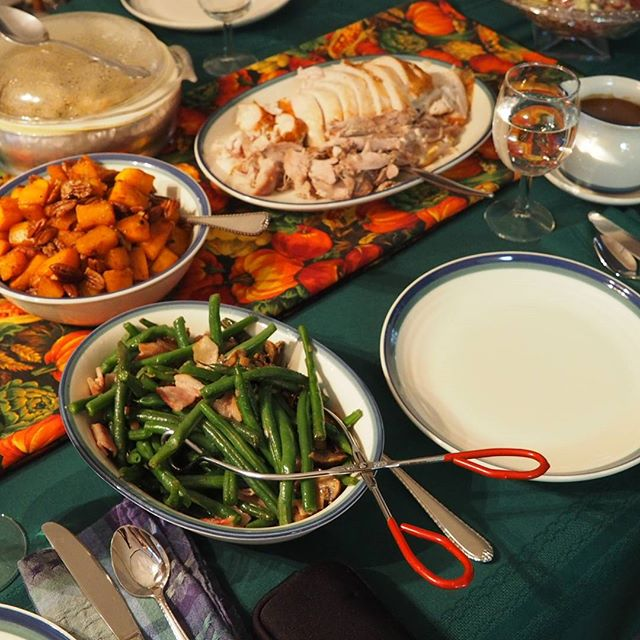 Let the feast begin! #Thanksgiving