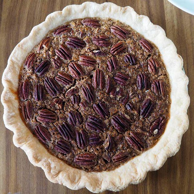 For dessert: Pecan pie #Thanksgiving