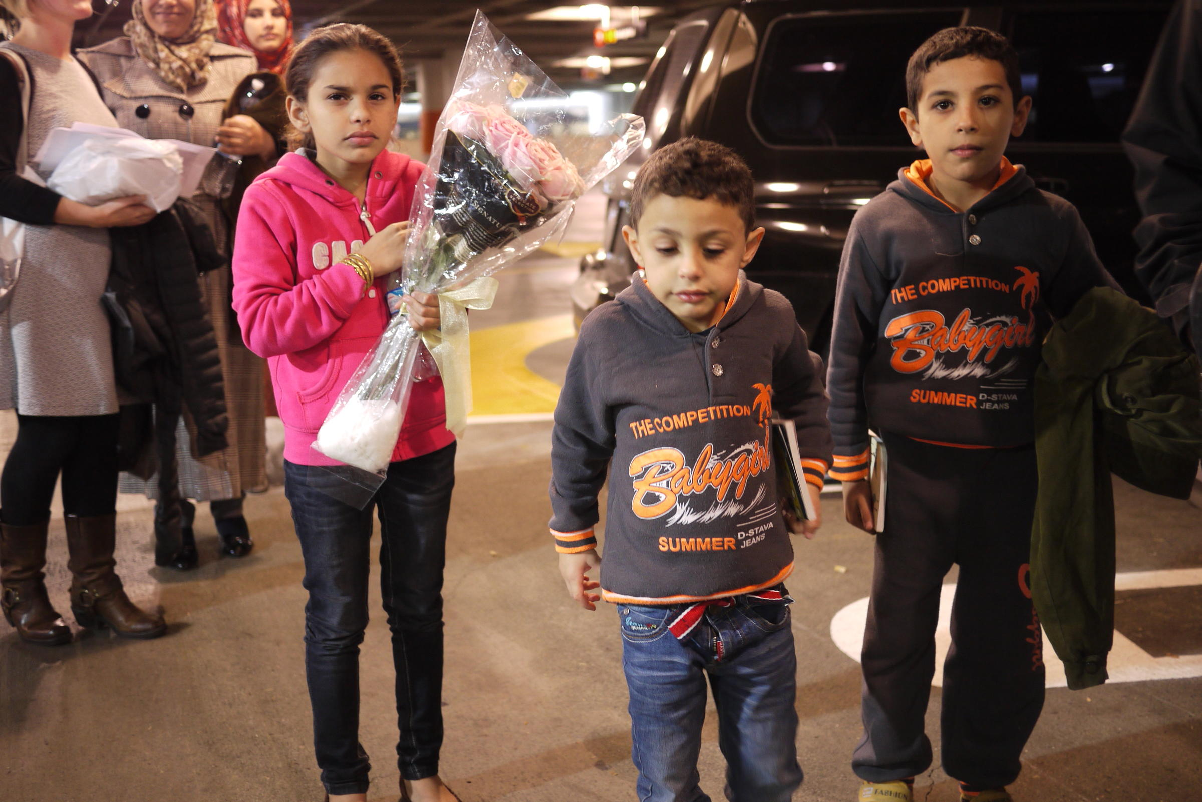 Syrian refugees arriving in Seattle