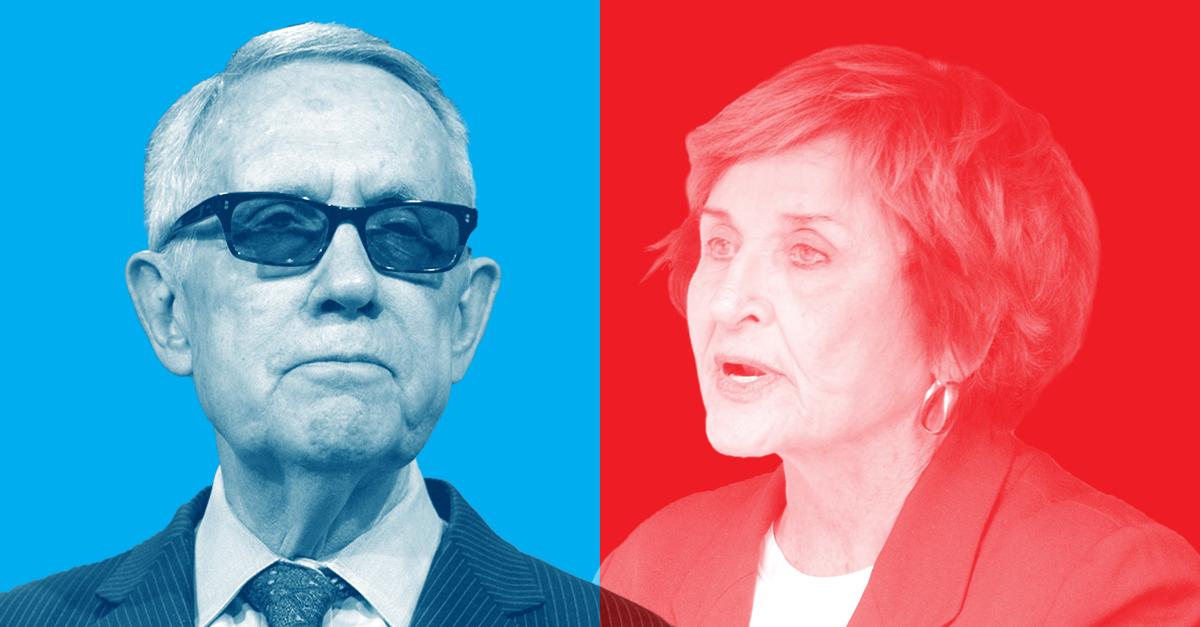 Harry Reid vs. Louise Slaughter