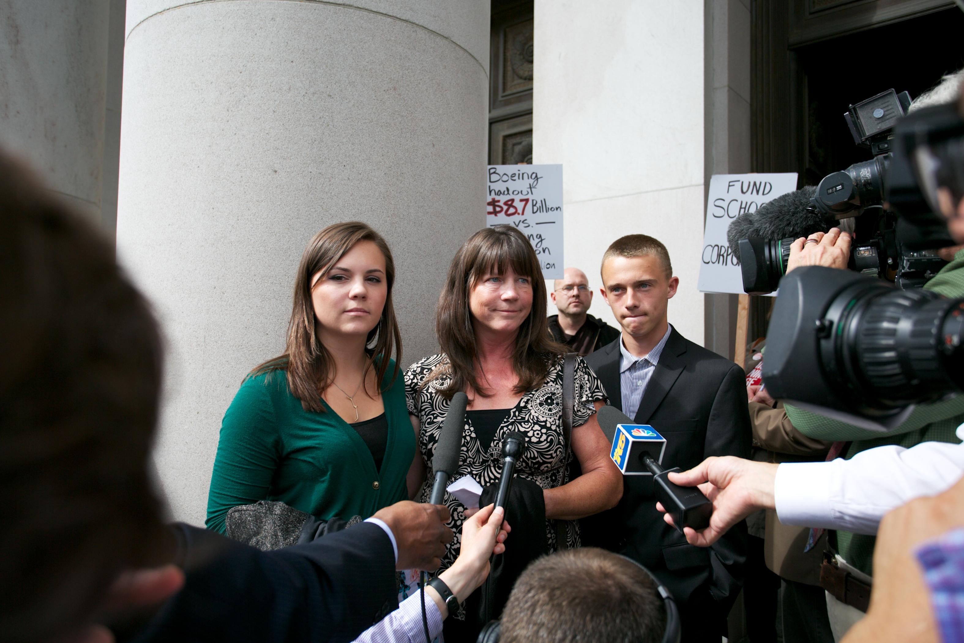 Stephanie McCleary, lead plaintiff in McCleary v. State