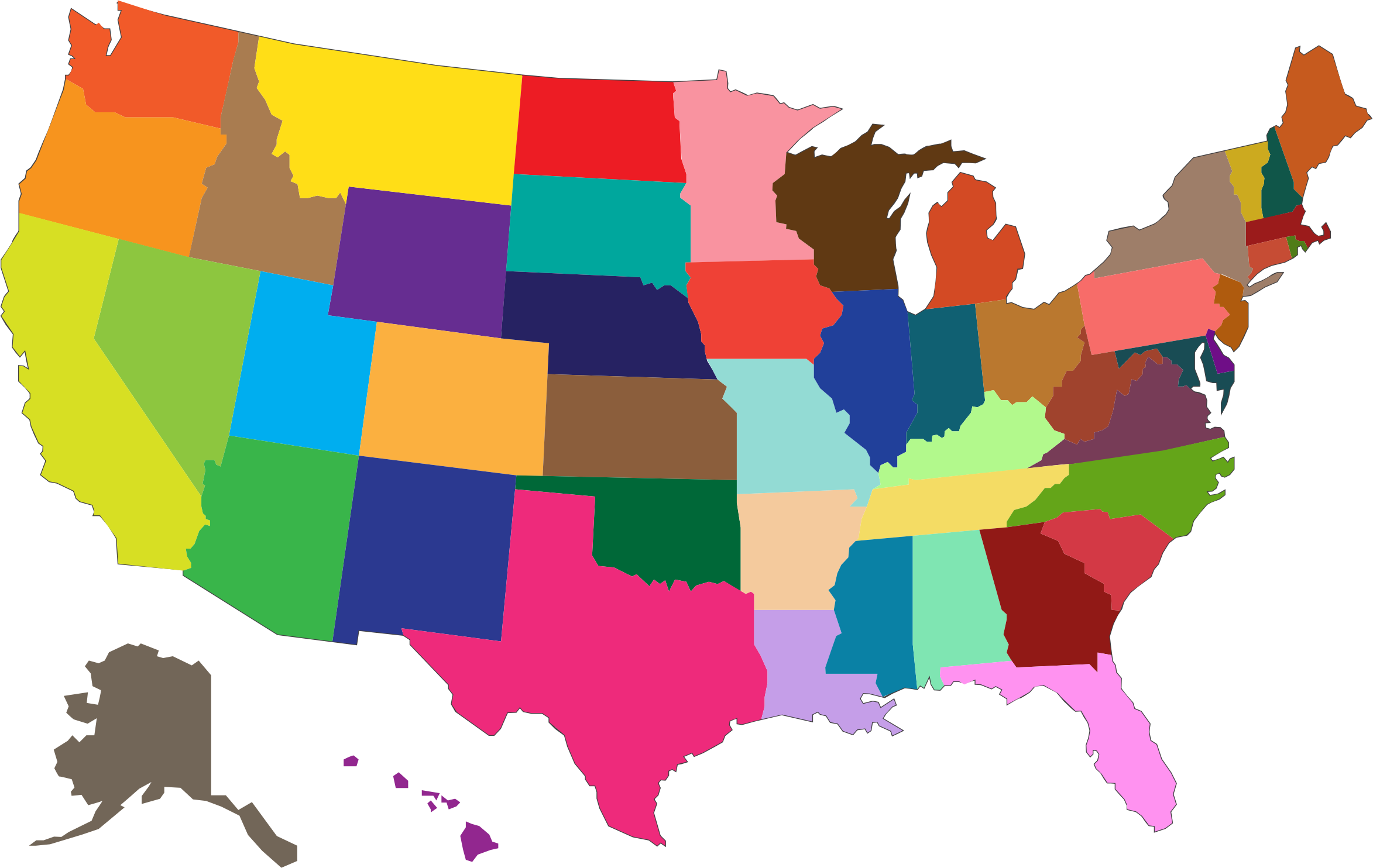 United States in Full Color