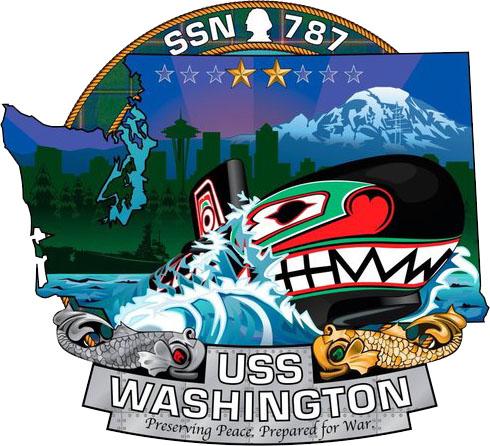 USS Washington Crest