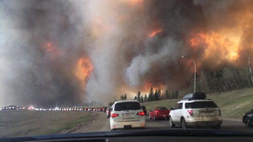 Fleeing Fort McMurray