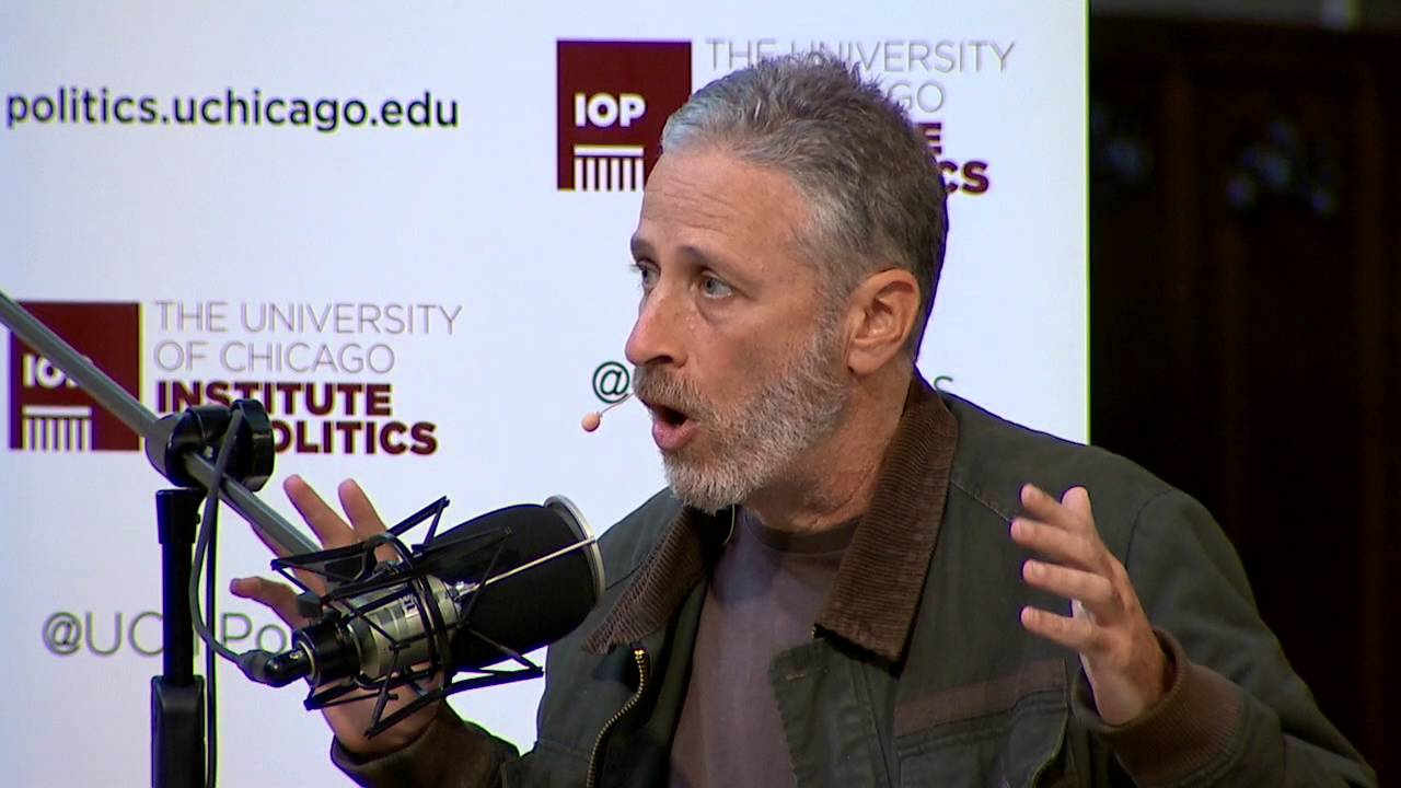 Jon Stewart on The Axe Files