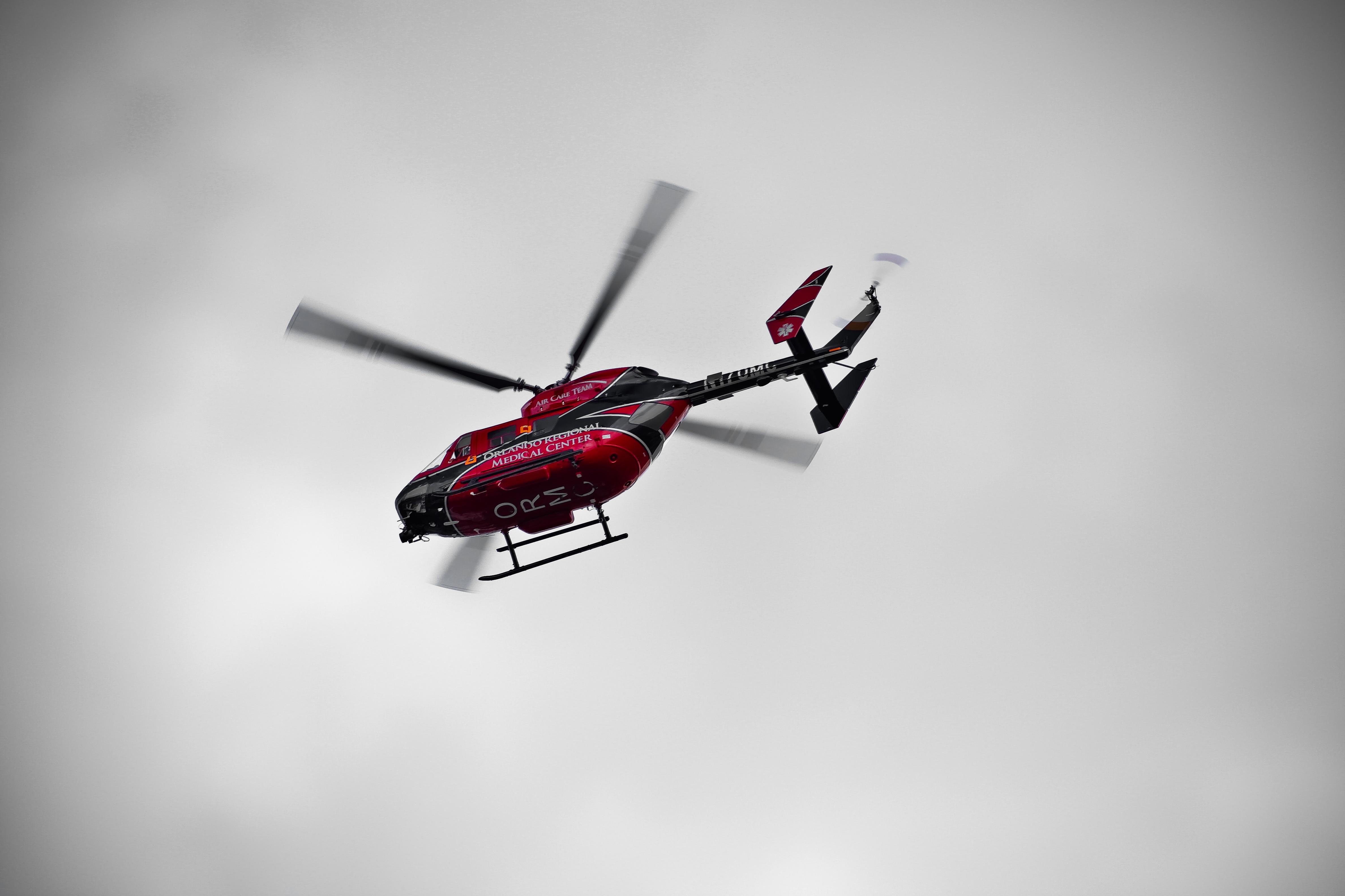Orlando Regional Medical Center helicopter