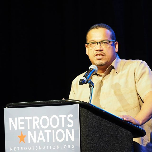 U.S. Representative Keith Ellison calls for progressive endurance to lift up people all over America #NN16