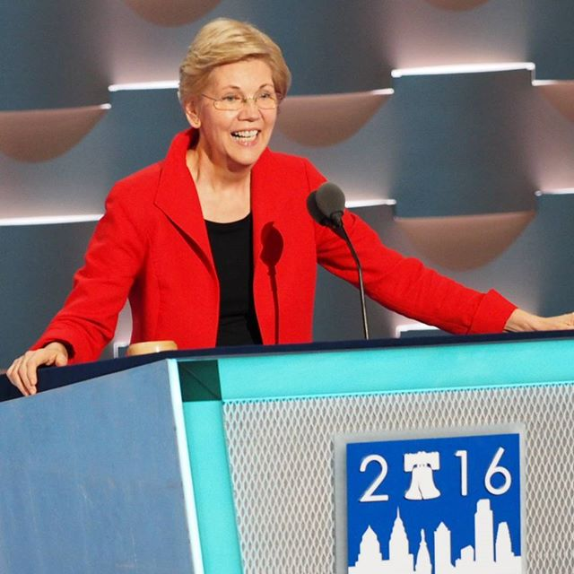 Senator Elizabeth Warren slices and dices Donald Trump in DNC speech