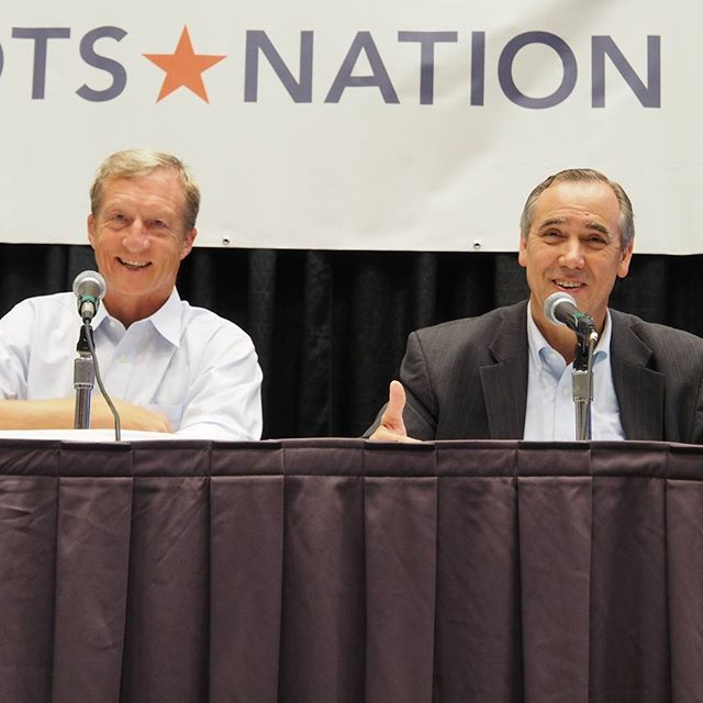 Oregon Senator Jeff Merkley and NextGen's Tom Steyer discuss keeping fossil fuels in the ground at Netroots Nation 2016