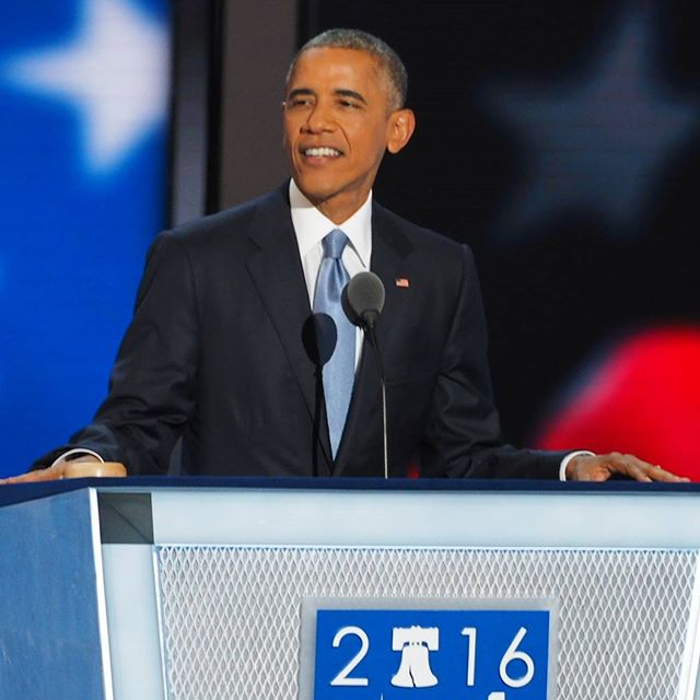 President Barack Obama closes out the third day of the Democratic National Convention with uplifting address