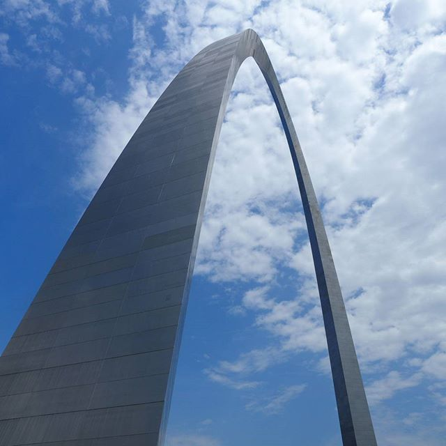 The Gateway Arch: As wide as it is tall