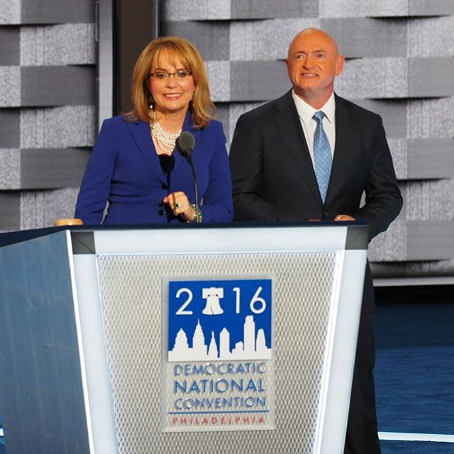 Gabby Giffords electrifies the 2016 Democratic National Convention
