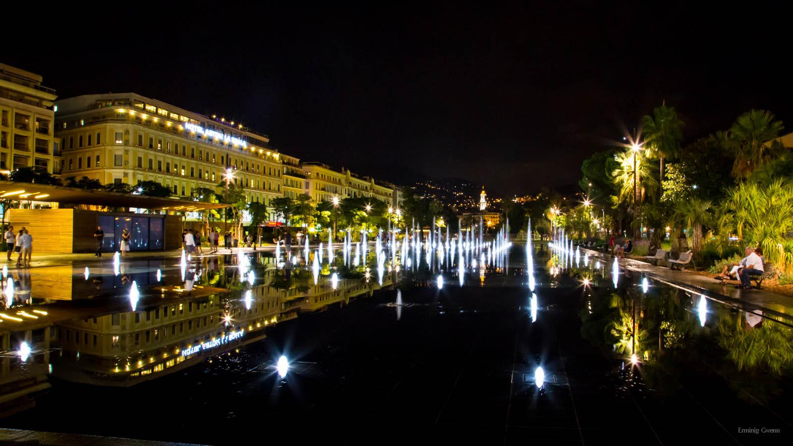 Panorama of Nice, France