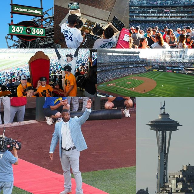 Scenes from Ken Griffey Junior weekend at Safeco Field, where the Mariners retired The Kid's No. 24 #24Ever
