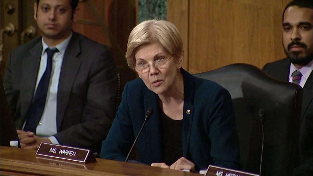 Elizabeth Warren eviscerates Wells Fargo CEO