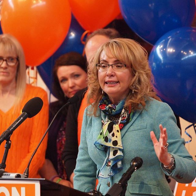 Gabby Giffords urges Washington voters to save lives and empower families by passing I-1491 (extreme risk protection orders)