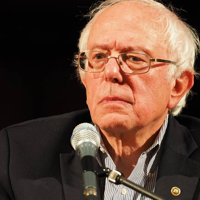 Bernie Sanders fields a question about changing America's media