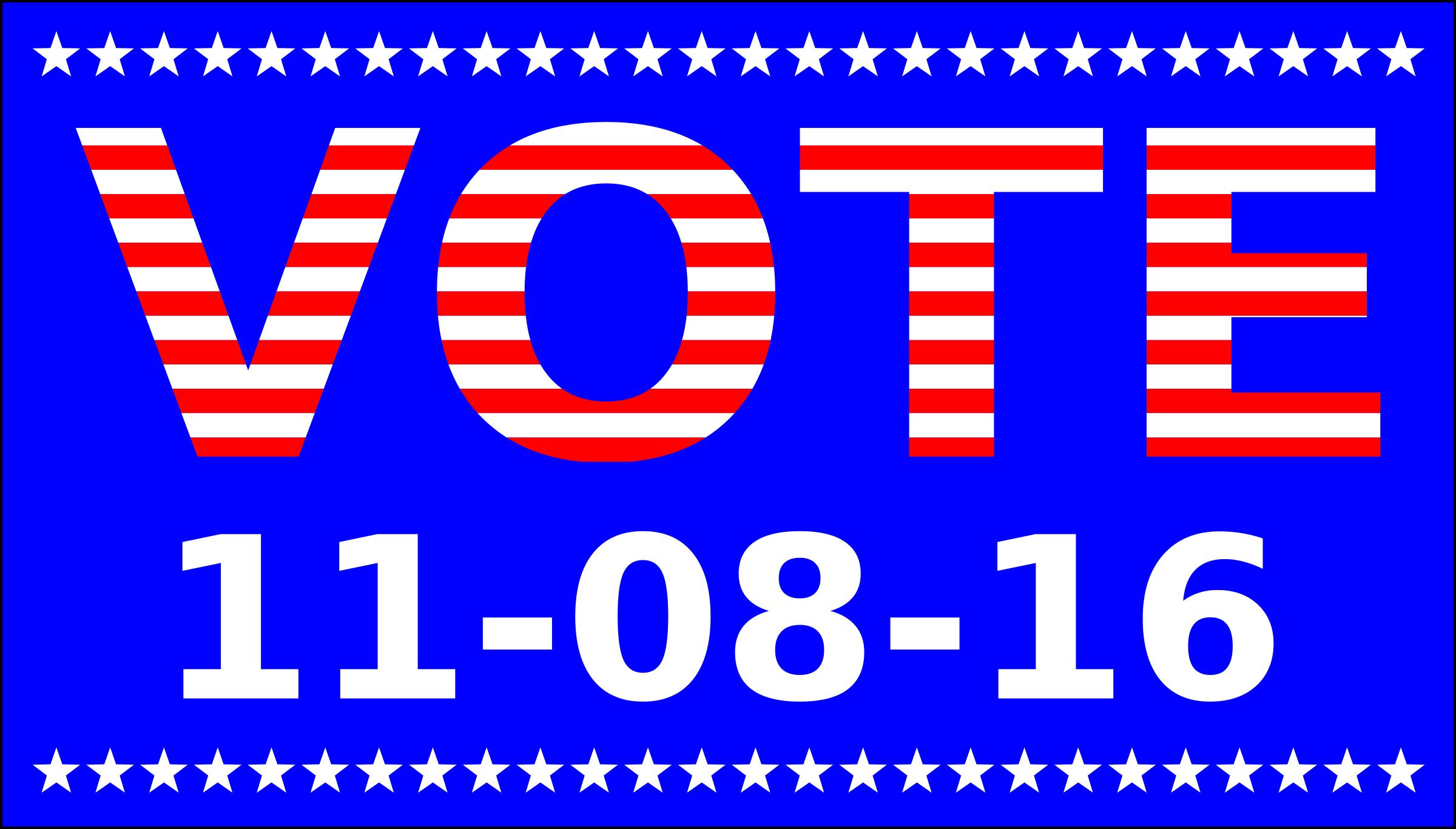 Vote 11-08-2016