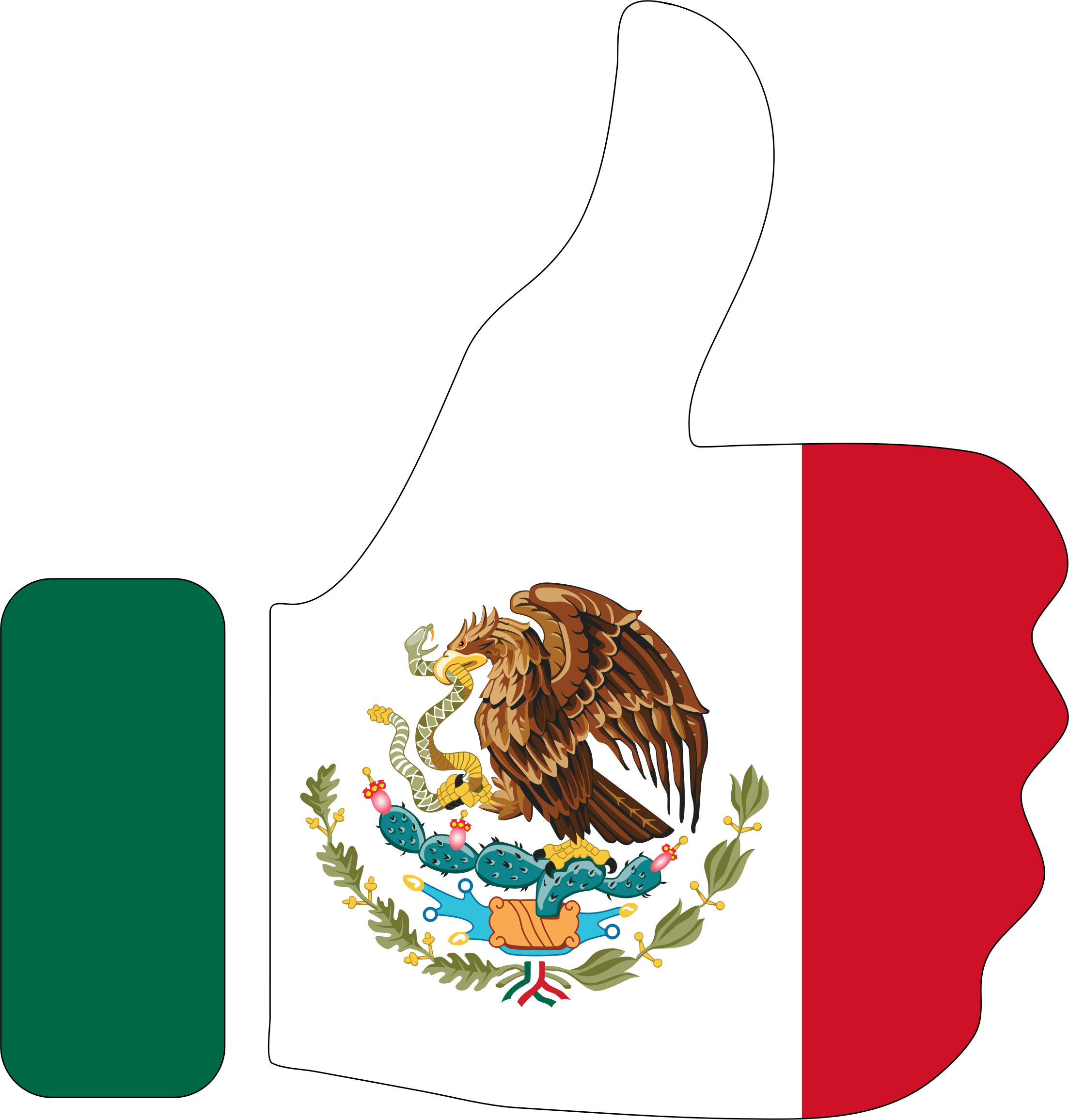 Thumbs up for Mexico
