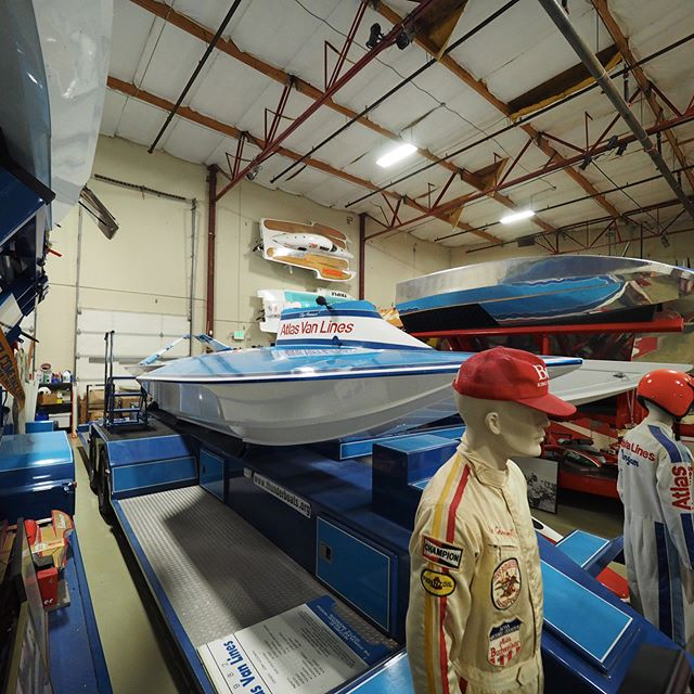 Another glimpse of the Hydroplane and Raceboat Museum, host venue for Permanent Defense's Fifteenth Anniversary Celebration