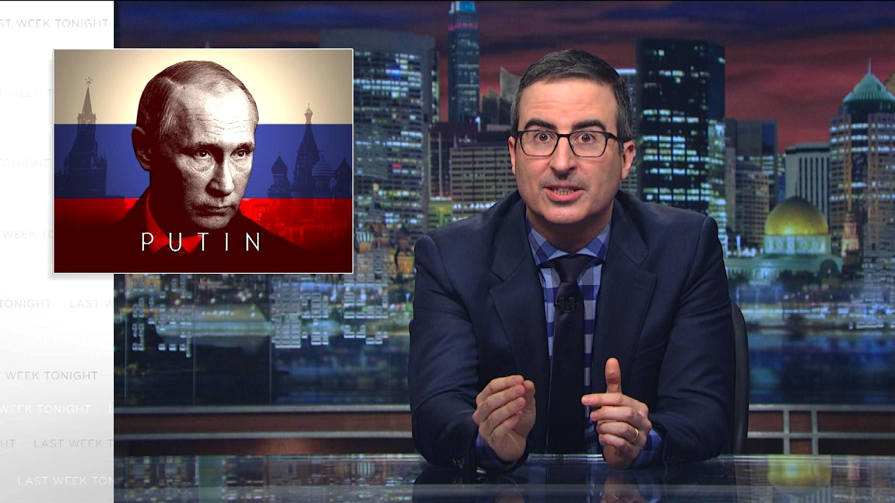 John Oliver on Trump and Putin