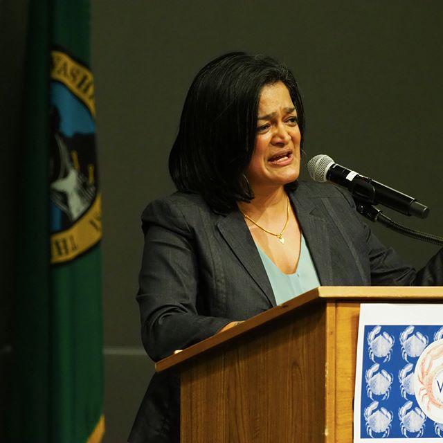 Pramila Jayapal speaking