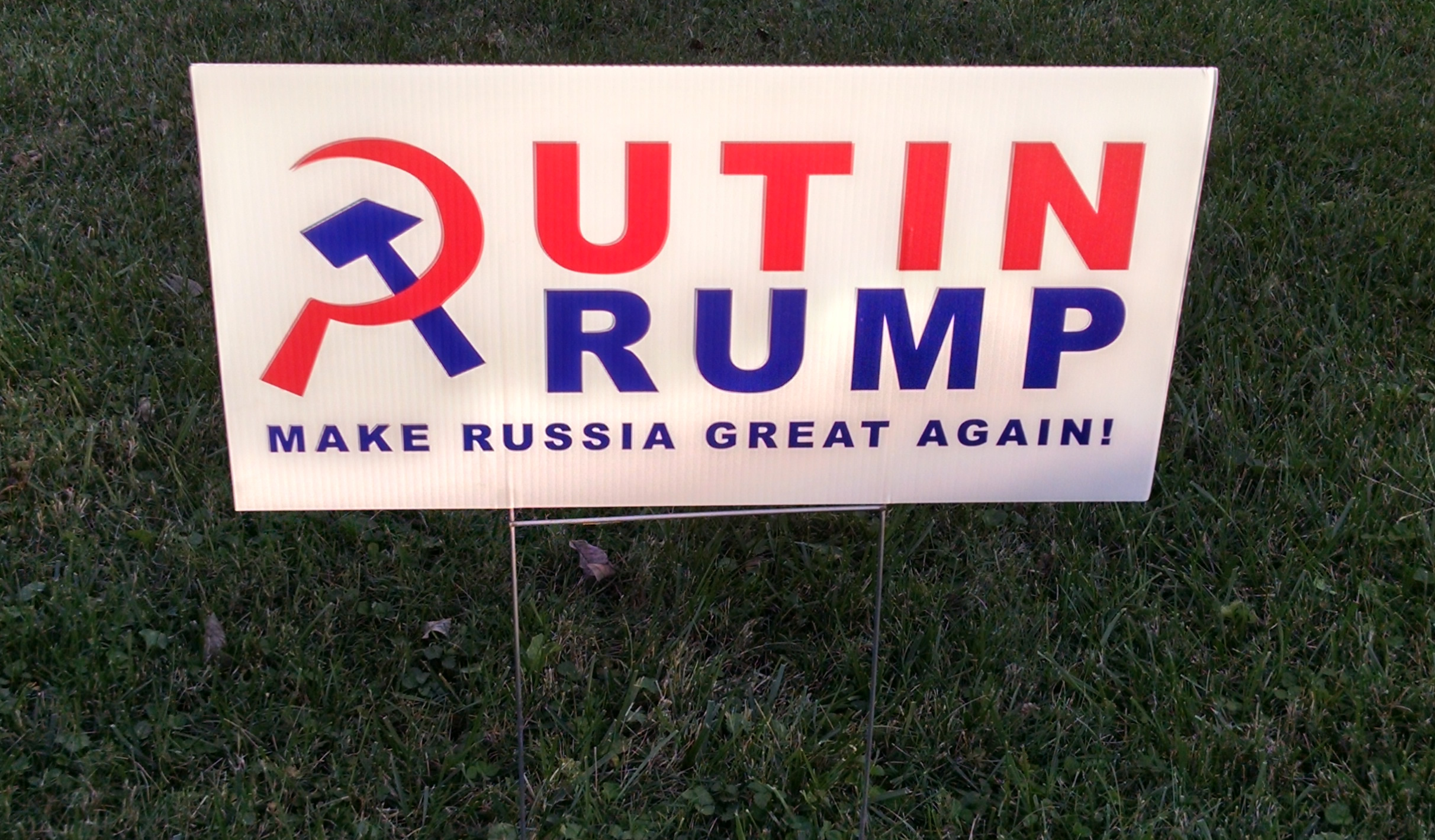 Putin/Trump: Make Russia Great Again!