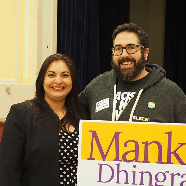 Manka Dhingra and Joseph Erikson