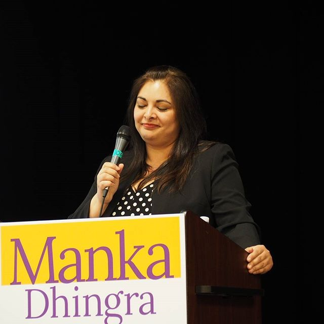 Manka Dhingra speaking