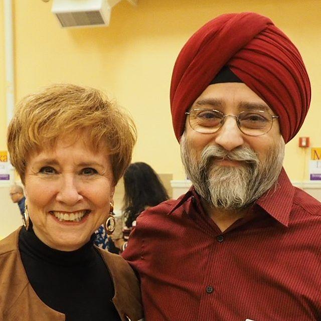 Lisa Wellman and Harjit