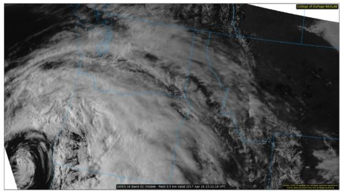 NEXLAB Experimental Satellite -- Visible Imagery for Pac. Northwest US (GOES16)